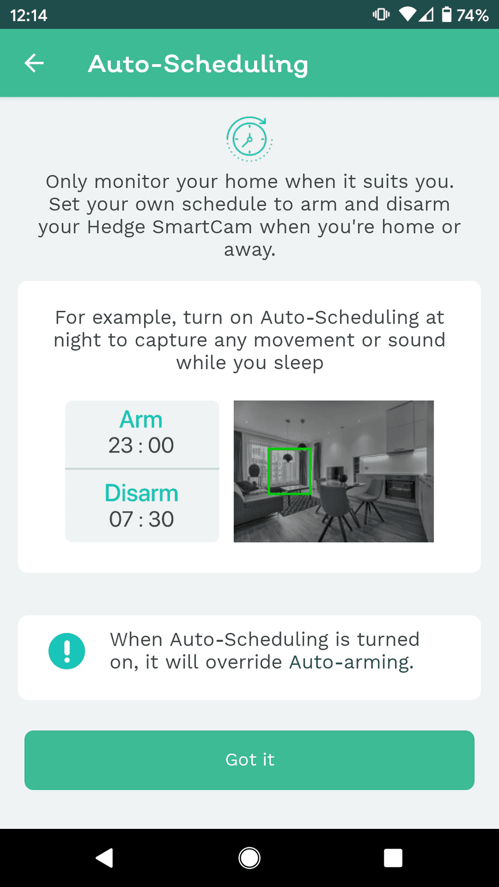 auto-scheduling with video